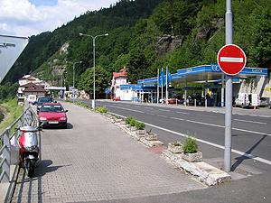 Tankstelle Tillyschanz